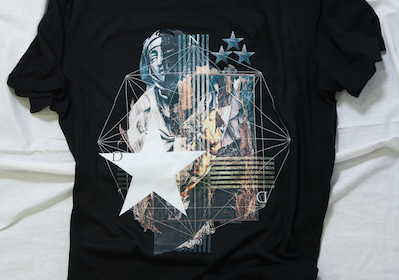 LARGER T-SHIRT TYPE STAR OUR LADY