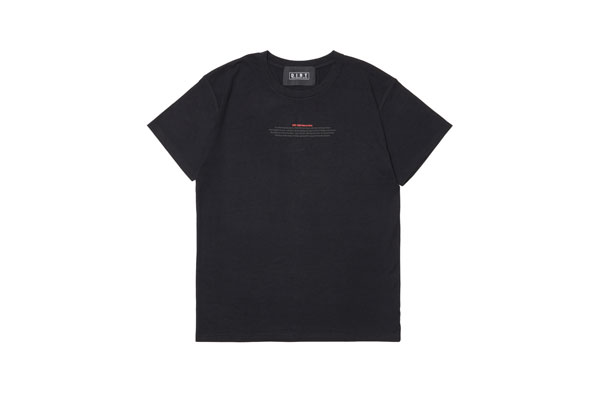 2020AW collection T-shirt BK