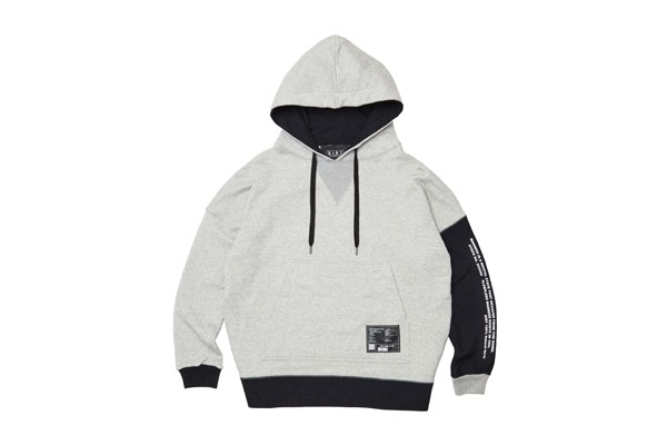2020AW collection Bicolor Hoodie GR