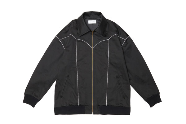 2020AW collection Western Blouson BK